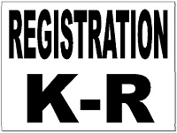 Event signs for Registrator health check